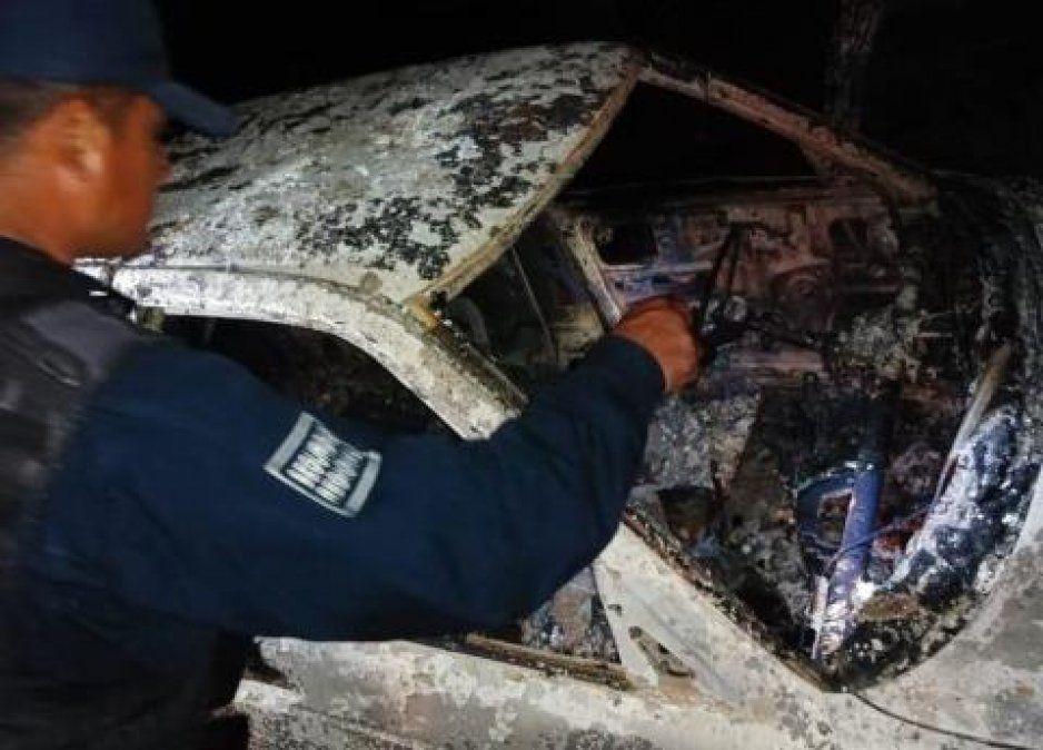 Levantan, ejecutan y calcinan a tres hombres en Huauchinango