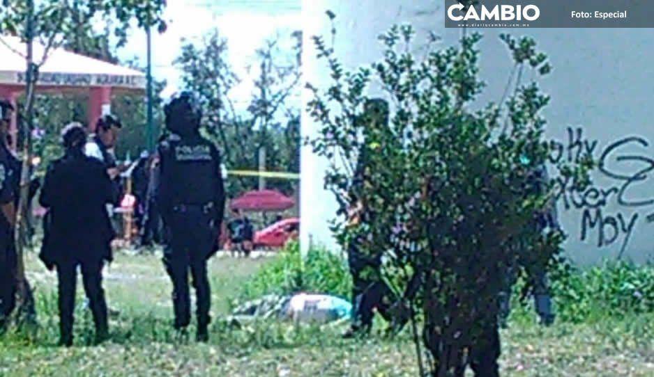 Ejecutan a hombre y recuperan vehículos durante el fin de semana en Texmelucan