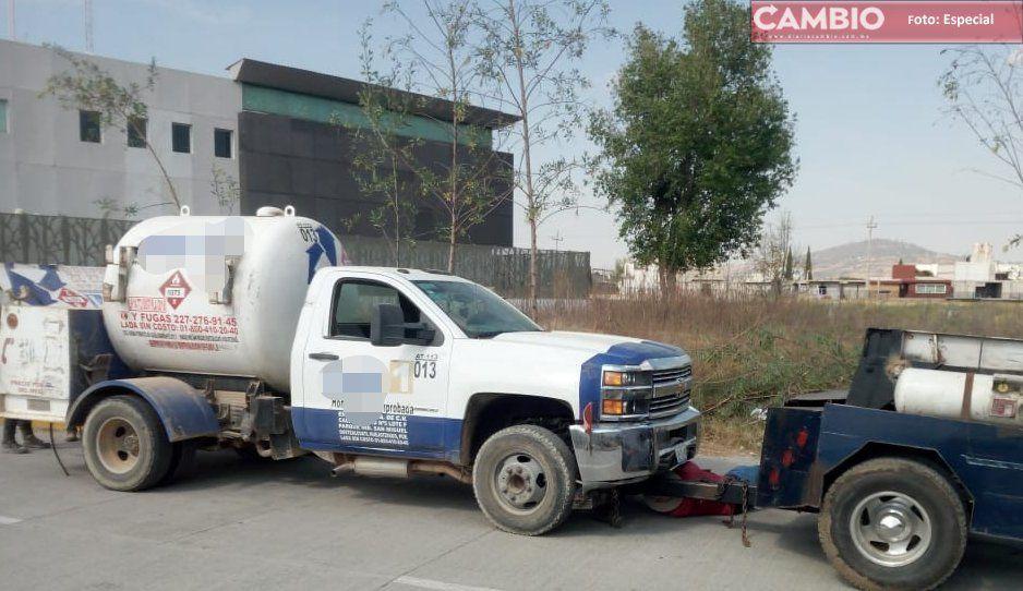 Recuperan pipa robada de Gas 1 en Texmelucan