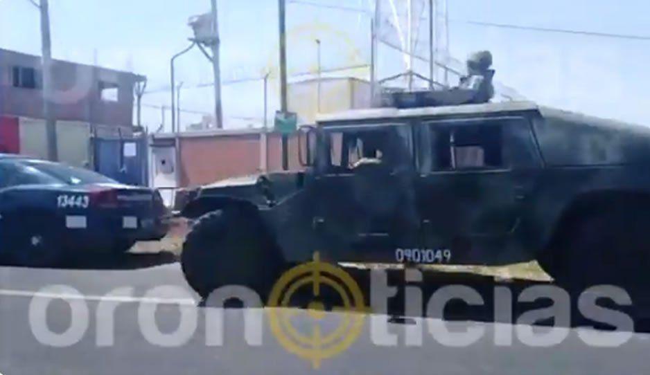 Aseguran bodega con tractocamiones robados en la carretera Atlixco - Izúcar de Matamoros