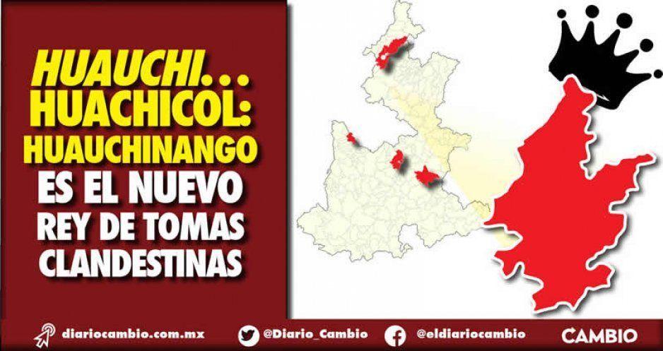 Huauchinango es el municipio campeón del huachicol con 272 ordeñas en 2019