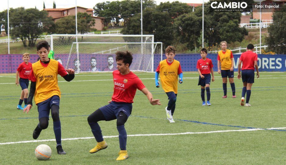 La academia del Club Barcelona en  Haras es como pocas a nivel mundial (FOTOS)