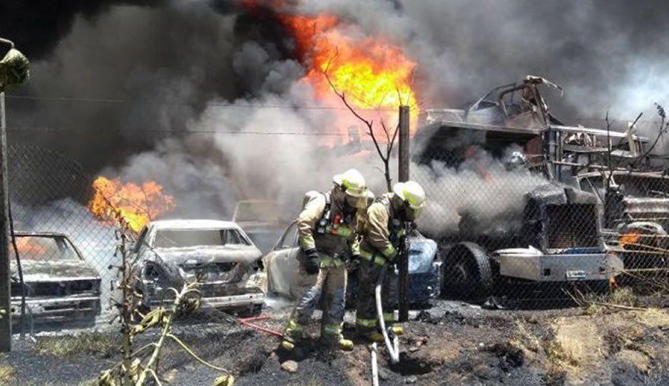 Sigue la violencia del Cártel del Pacífico: van 23 ejecutados y 20 autos incendiados en Chihuahua