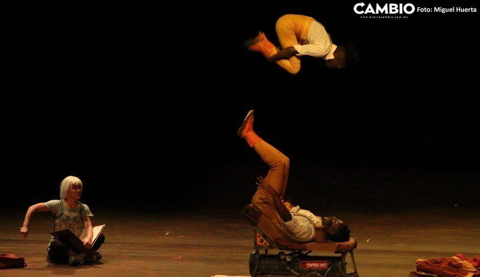 Cirque du Soleil deleita a los poblanos con su espectáculo en la Ciudad de las Ideas (VIDEO)
