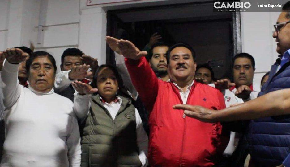 Antorcha Campesina toma control de  presidencia municipal de Ocoyucan