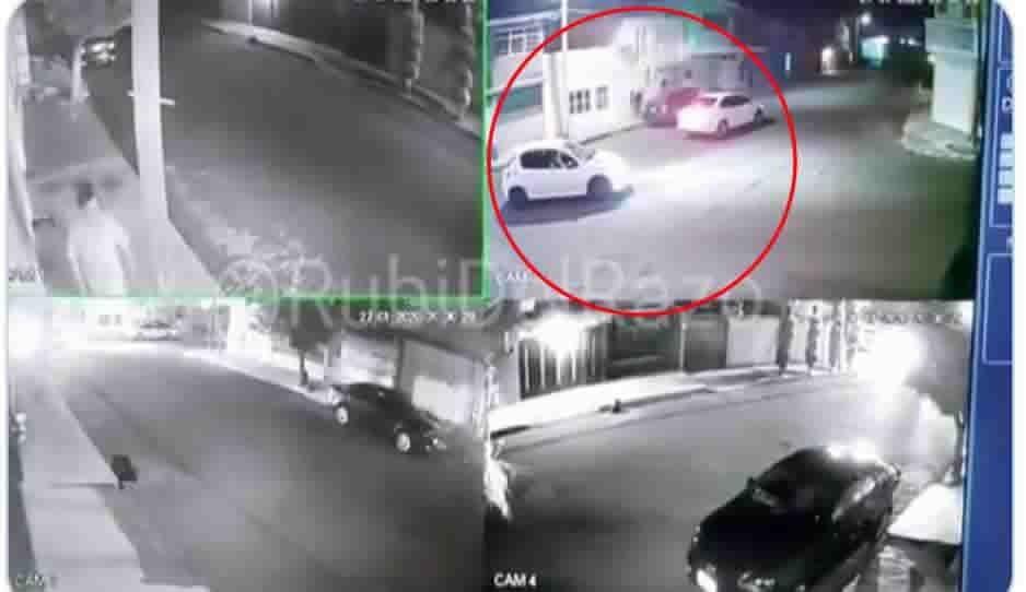 Roban auto a mujer en violento asalto en Satélite Magisterial (VIDEO)