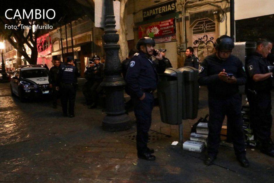 Niega SSPTM balacera en el Centro; solo eran sujetos sospechosos