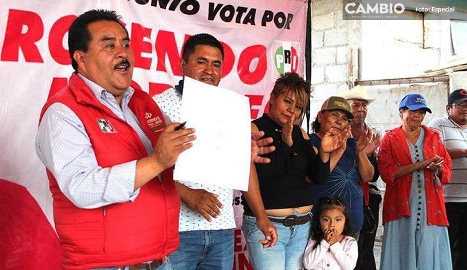 Respaldan colonias populares a Rosendo Morales