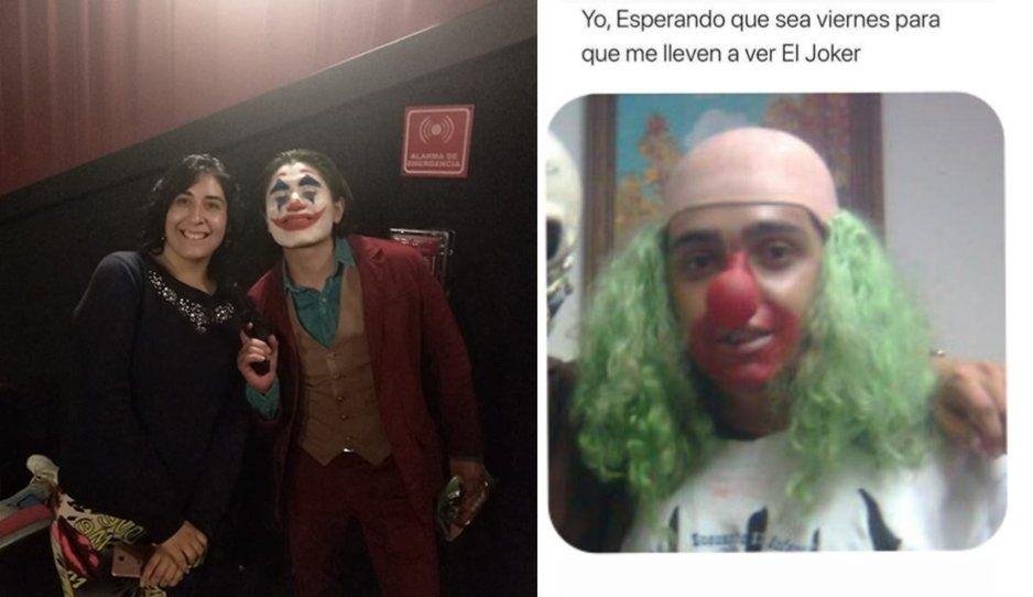 Poblanos van disfrazados del Joker al cine y se desata la memiza (FOTOS)