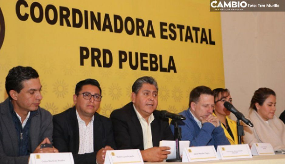 PRD asegura que no está obligado a refrendar la alianza con el PAN; descarta unirse a Morena