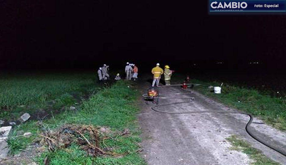 Fuga de gas en toma clandestina fue sellada enTepeaca