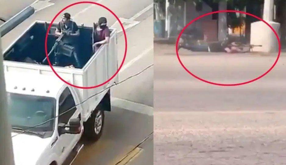 Ventilan VIDEOS inéditos de la balacera en Culiacán ante detención de Ovidio Guzmán