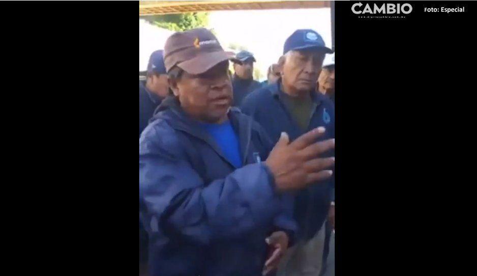 VIDEO: En paro trabajadores del Sosapamimen Izúcar