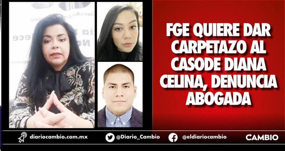 FGE quiere dar carpetazo al caso de Diana Celina, denuncia abogada
