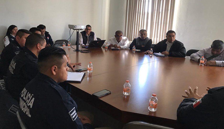 Brindan curso a policías de Teziutlán sobre Plataforma México y Registro Nacional de Detenciones