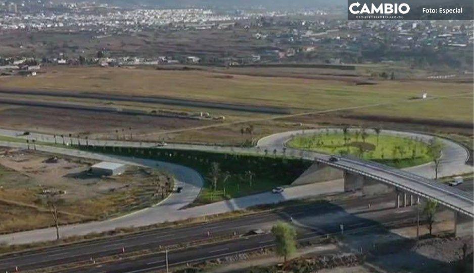 Con el nuevo acceso Cascatta, Lomas está a sólo 6 minutos de Angelópolis (VIDEO)