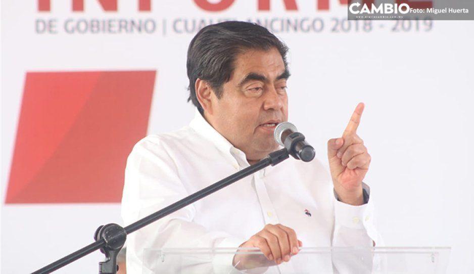 Barbosa pide a Claudia Rivera que seenfoque en trabajar por el bienestar de Puebla (VIDEO)