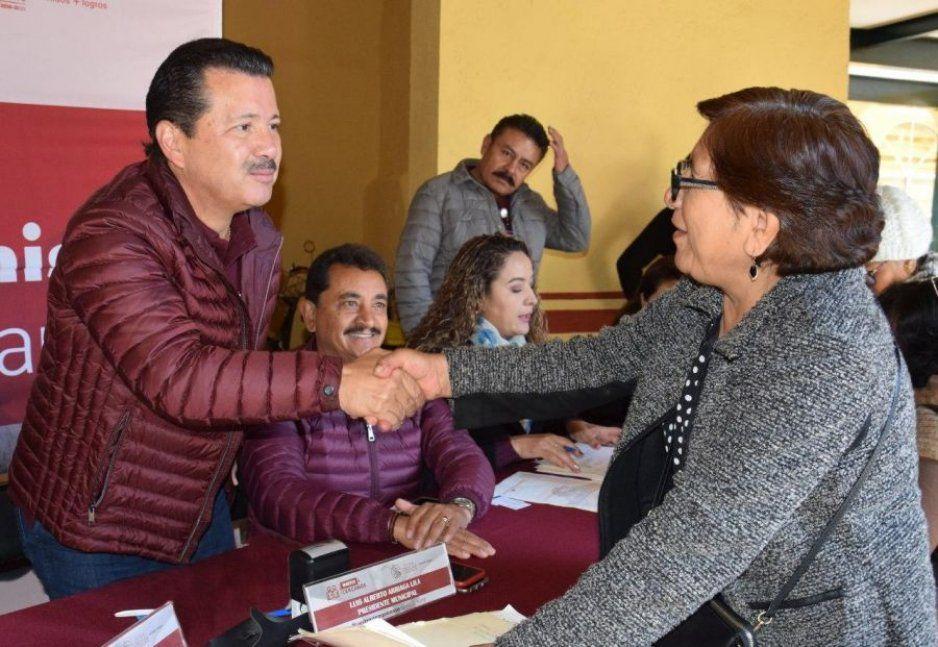 Reactiva Luis Alberto Arriaga audiencias públicas en San Pedro Cholula