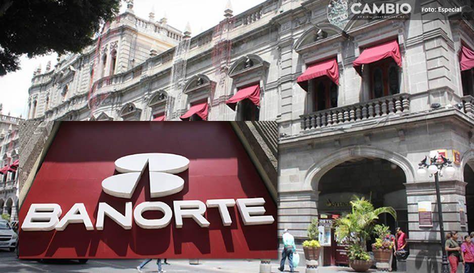 Bancomer, Banamex y Santander quieren quitarle a Banorte las cuentas del Ayuntamiento