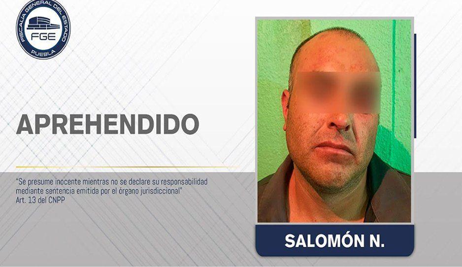 Detienen a feminicida de Cañada Morelos; mató a su esposa en el 2019