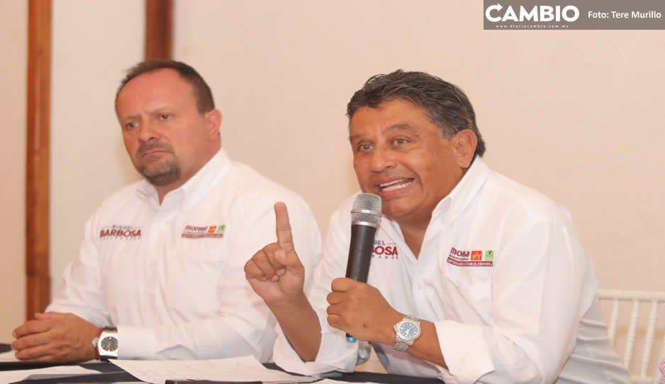Vocero de Barbosa reta a Cárdenas: que exhiba auditoría del SAT al CEEY