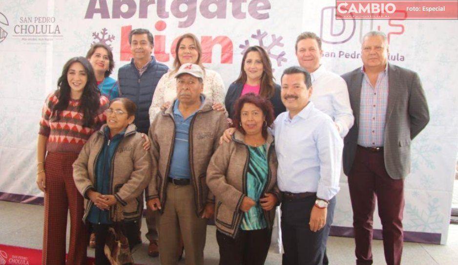 A pesar del frío, San Pedro Cholula no pasara frío: arrancan caravanas Abrígate bien