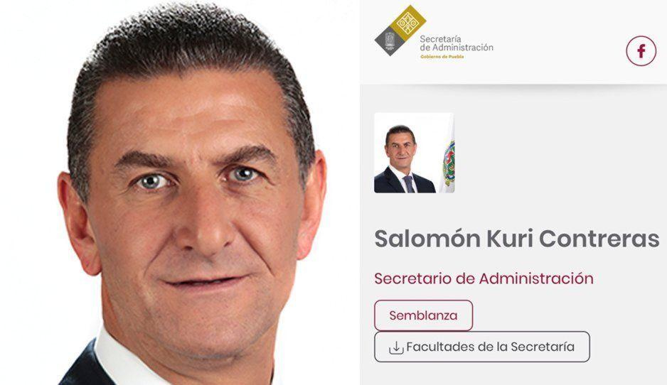 Salomón Kuri, primer baja en el gabinete de Barbosa; se va de la Secretaría de Administración