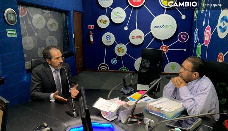 Esparza se victimiza ante radiodifusoras pero admite denuncia penal en su contra por desvío