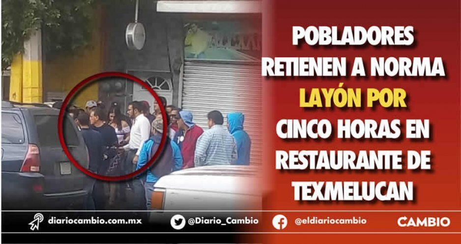 Pobladores retienen a Norma Layón por más de cinco horas, Ayuntamiento niega privatización del agua
