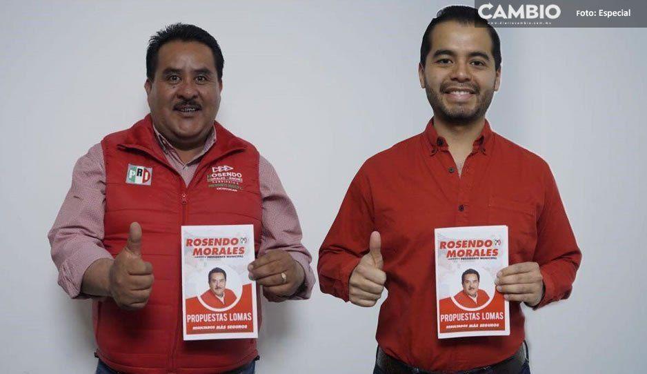 Rosendo Morales y Marco de los Santos acuerdan acciones por Ocoyucan