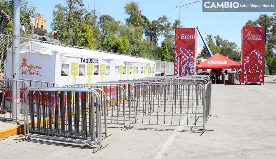 Policía auxiliar, municipal y estatal vigilarán la Feria de Puebla