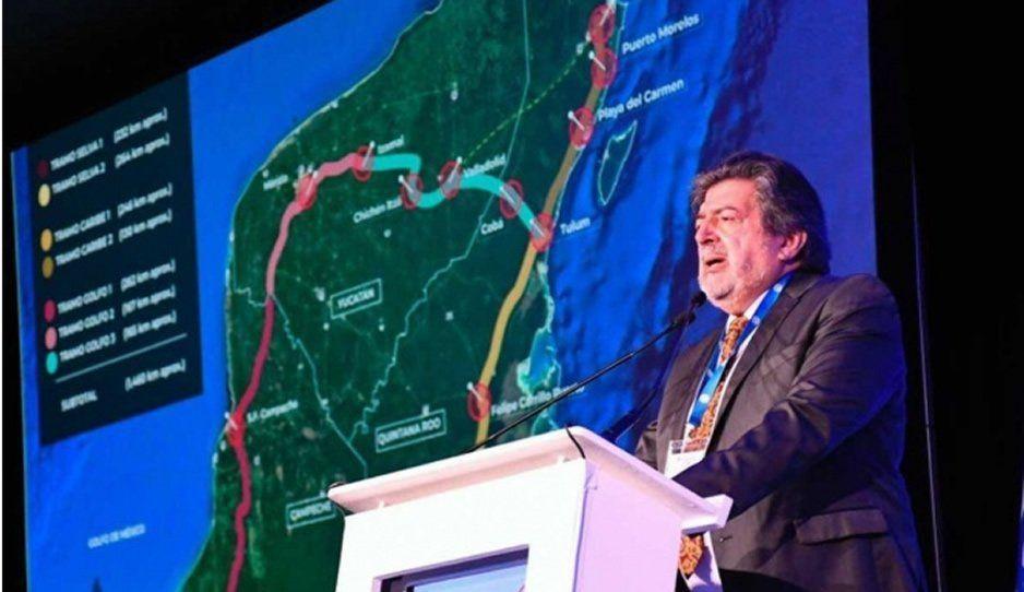 Iniciativa privada aportará 90% de la inversión para Tren Maya