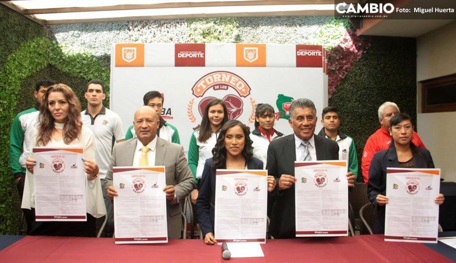 Diana Coraza presentó el Torneo de Box de los Barrios, dará inicio el 13 de julio