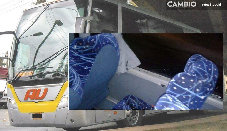 Héroe sin capa: Chofer salva a pasajeros de un atraco en Amozoc, balearon el autobús