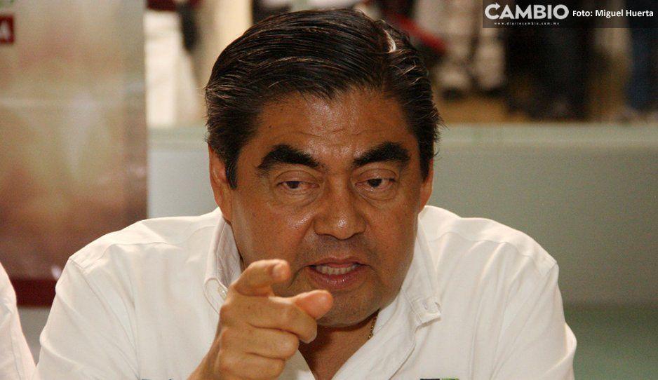 Asegura Miguel Barbosa que no habrá  opacidad por contratos de obra pública