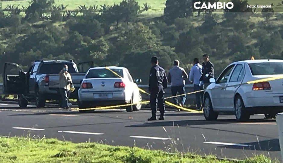 Abaten a dos secuestradores y rescatan a dos víctimas en la Tlaxco-Tejocotal