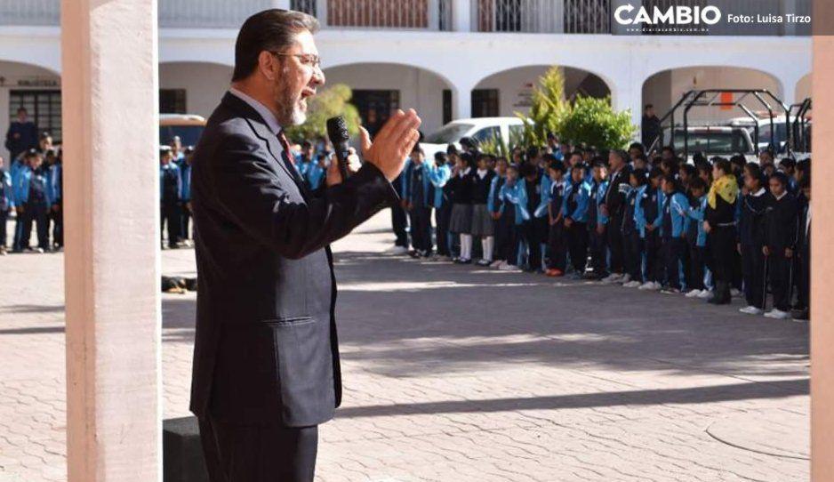 Presidente de Ocoyucan considera que Pacheco Pulido abonará a la reconciliación del Estado