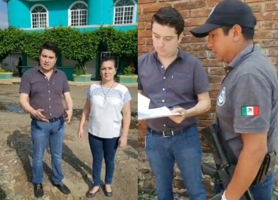 Agentes de la AEI no encontraron nada en cuatro cateos a familia Valencia en Venustiano Carranza (VIDEO)