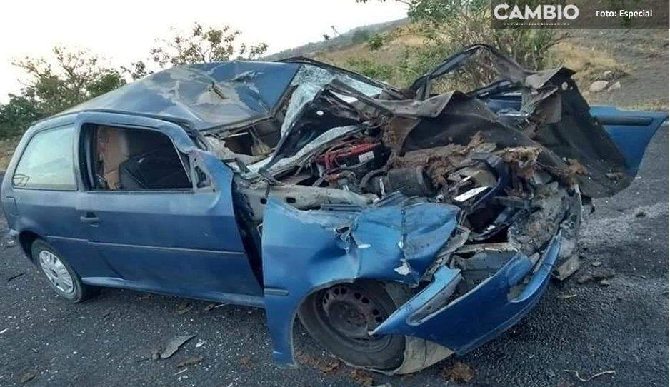 Accidente carretero deja un lesionado: la ambulancia no acude por falta de gasolina