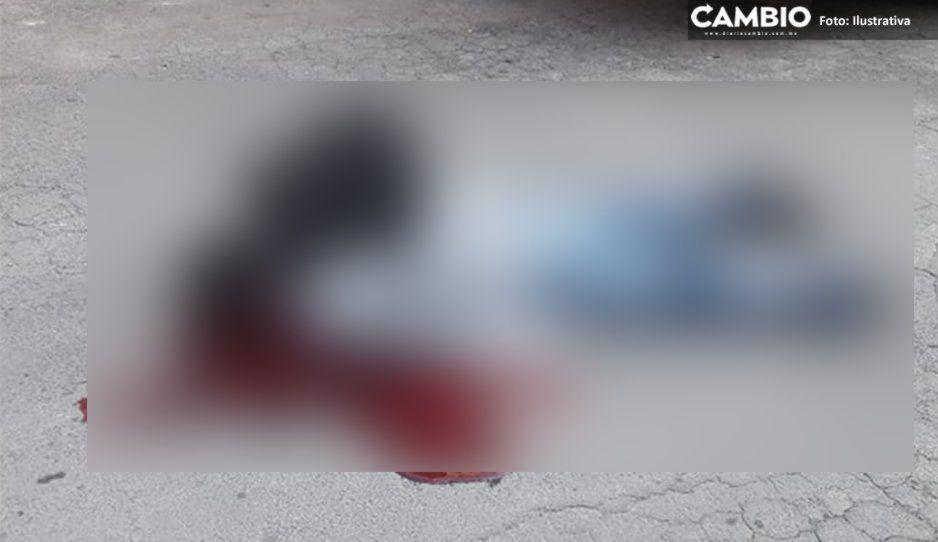 Lo asesinan de 14 balazos y lo dejan como coladera en San José Acateno