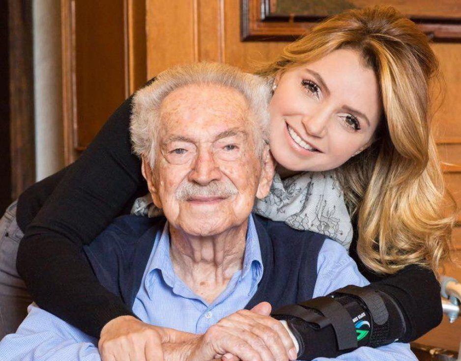 Muere el abuelo de Angélica Rivera a los 98 años de edad