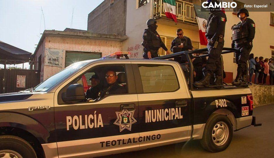 Hasta 2020,  dan aguinaldo  a policías de  Teotlalcingo