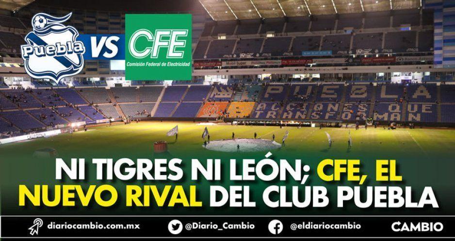 CFE complota vs el Club Puebla y le niega el contrato de luz