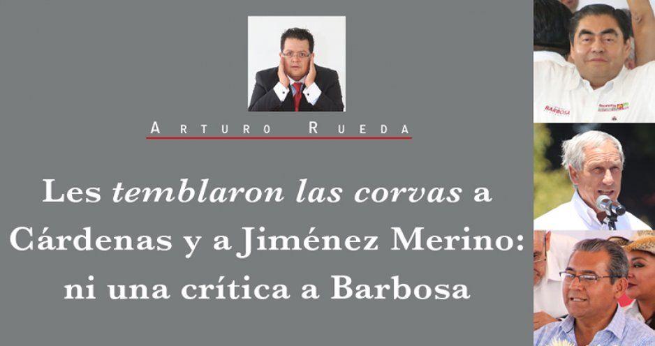 CRÓNICA: Les temblaron las corvas a Cárdenas y a Jiménez Merino: ni una crítica a Barbosa