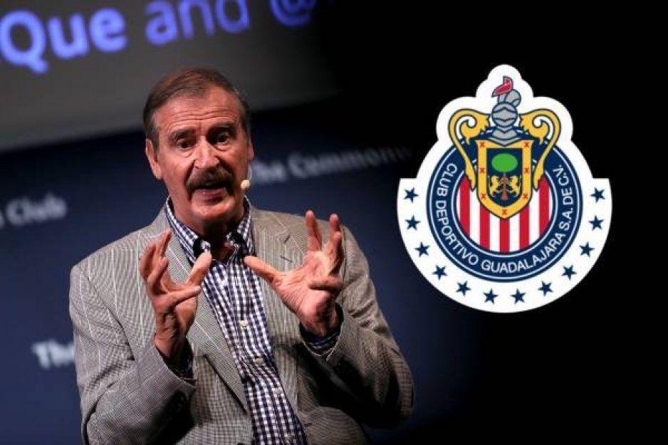 Google filtra que Vicente Fox es el dueño de las Chivas