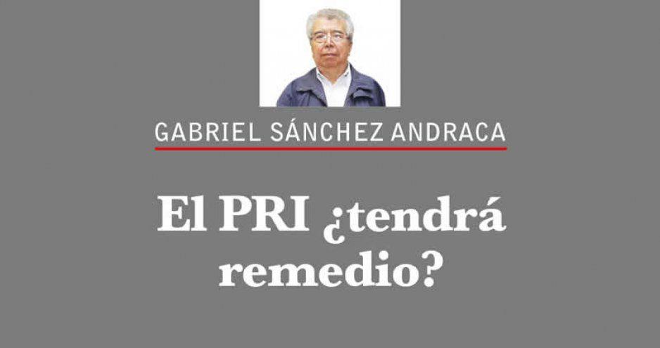 El PRI ¿tendrá remedio?