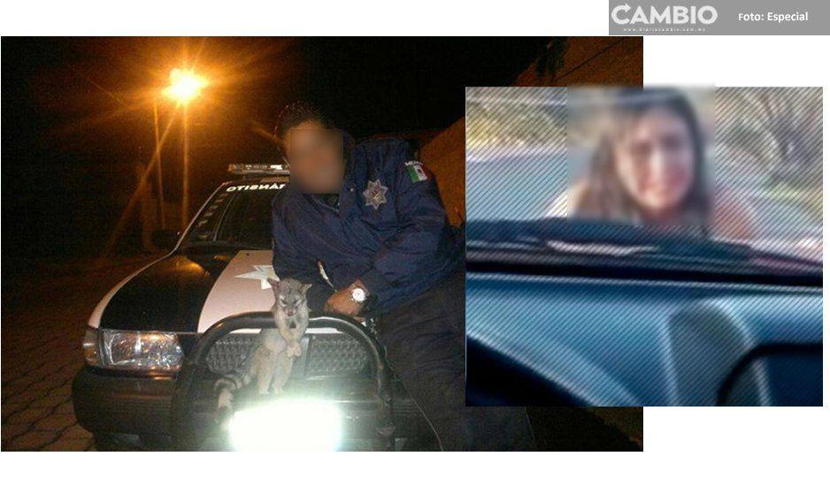 Desnudo y desorientado aparece policía de Atlixco en Veracruz