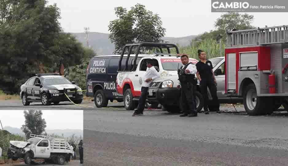 Volcadura en Libramiento Tecnológico-San Marcos deja un muerto y tres heridos