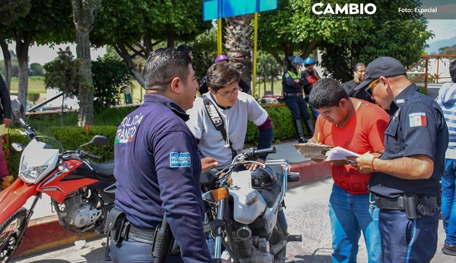 Norma Layón confirma cambios en Tránsito Municipal en Texmelucan