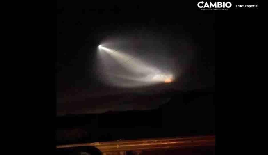 Misterioso fenómeno causa asombro en el cielo Tehuacán